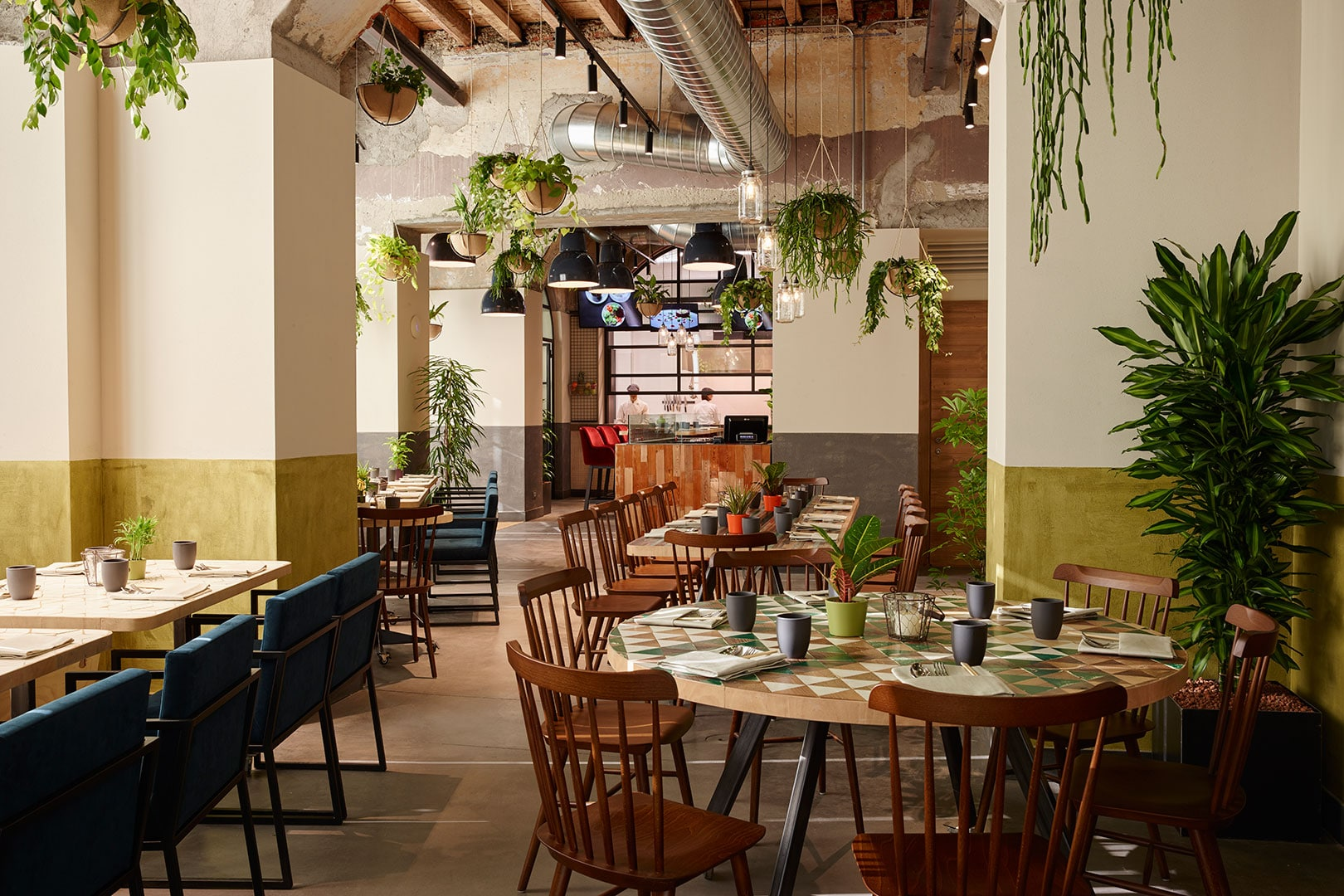 Arredamento per ristoranti idee di design e nuove for Arredamento ristorante fallimenti