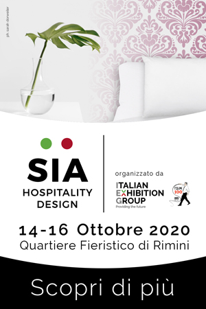 Media partner ufficiale SIA Hospitality Design