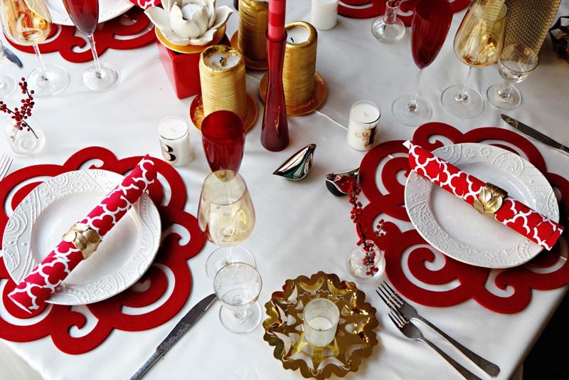 Decorazioni Da Tavola Per Natale : Mise en place di natale come allestire le tavole di hotel e