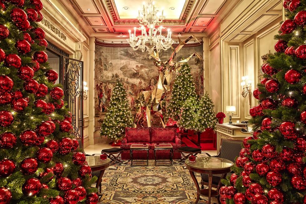 Decorazioni di natale idee per hotel e ristoranti - Addobbi natalizi per le finestre ...