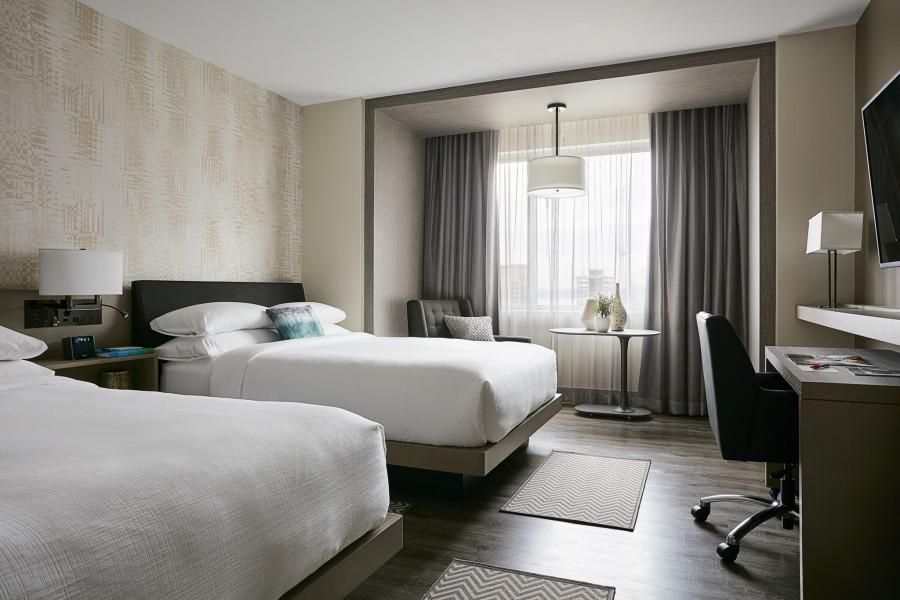 Marriott ridisegna le camere e sperimenta nuove Idee per Hotel