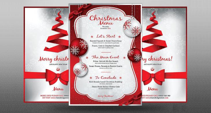Consigli Per Menu Di Natale.Menu Design Di Natale Per Hotel E Ristoranti