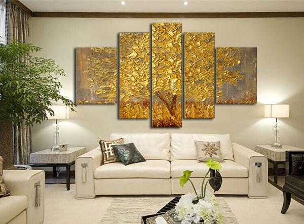 Come arredare con i quadri moderni piccola guida alla scelta di quadri artistici per hotel e - Quadri arredamento casa ...