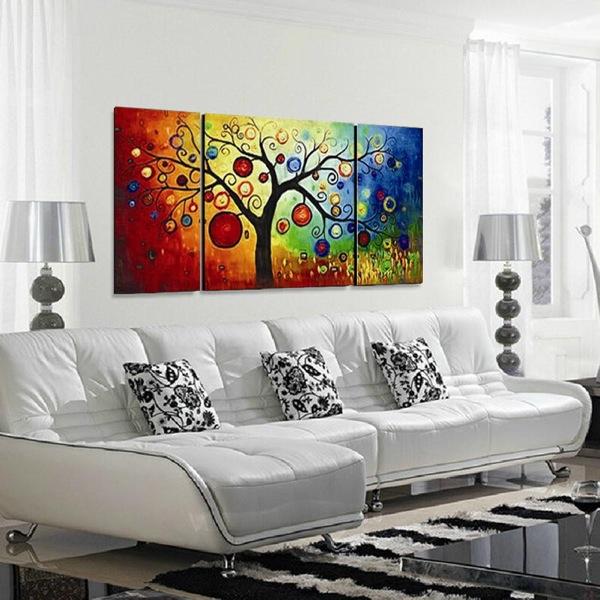 Come arredare con i quadri moderni piccola guida alla scelta di quadri artistici per hotel e - Quadri per arredare casa ...