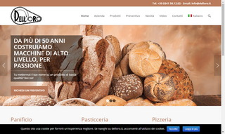 Dell'Oro Srl - Macchine Per Panifici, Pasticcerie, Pizzerie