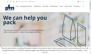 Pfm Spa Packaging Machinery